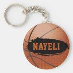 Nayeli personalizou o chaveiro/Keyring do basquete