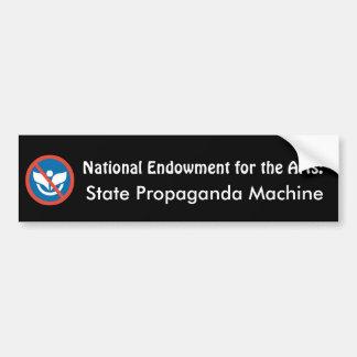 NEA: Máquina da propaganda do estado Adesivos