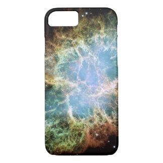 Nebulosa alaranjada & verde capa iPhone 7