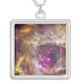Nebulosa Caldwell 49 do Rosette o coração de um ro Colar