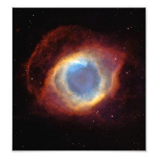 Nebulosa da hélice (telescópio de Hubble) Impressão De Foto