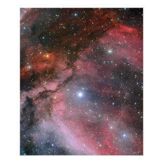 Nebulosa de Carina em torno da estrela WR 22 de Fotografia