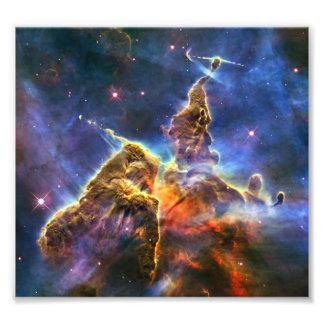 Nebulosa de Carina (telescópio de Hubble) Impressão De Foto