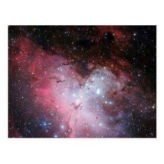 Nebulosa de Eagle Cartão Postal