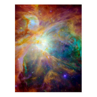 Nebulosa de Orion (telescópios de Hubble & de Cartão Postal