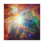 Nebulosa de Orion (telescópios de Hubble & de Spit Impressão De Canvas Esticada