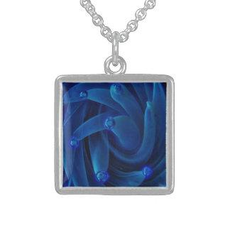 Nebulosa de vidro azul de néon do espaço de Lampwo Bijuteria