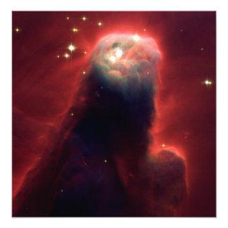 Nebulosa do cone (telescópio de Hubble) Foto Artes