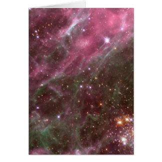 Nebulosa do Tarantula Cartão