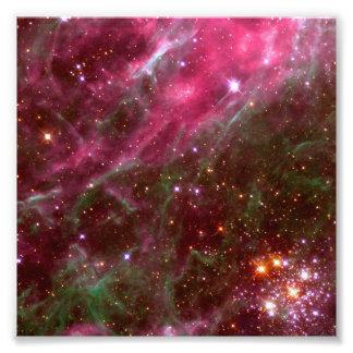 Nebulosa do Tarantula (telescópio de Hubble) Impressão De Foto