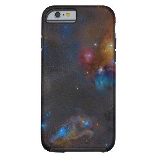 Nebulosa escura complexa da nuvem de Ophiuchi do Capa Tough Para iPhone 6