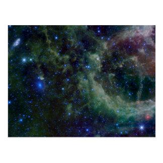Nebulosa IC 1805 do coração Cartoes Postais