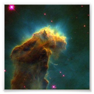 Nebulosa M16 Hubble de Eagle Impressão De Foto