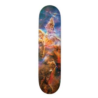 Nebulosa místico de Carina da montanha Shape De Skate 21,6cm