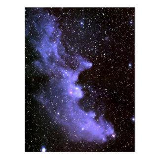 Nebulosa principal IC 2118 da bruxa Cartão Postal