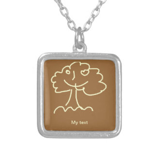 Necklace (square) small pingentes