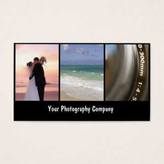 Negócio Cards_New do fotógrafo Cartão De Visitas