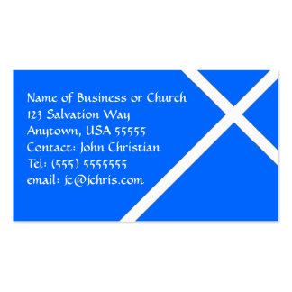 Negócio cristão do cartão para igrejas & pastores cartão de visita