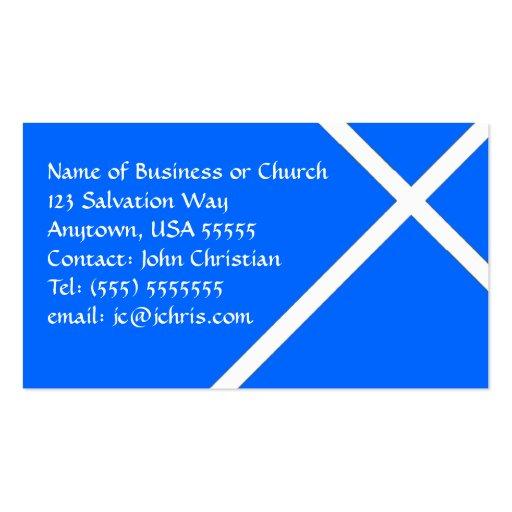 Negócio cristão do cartão para igrejas & pastores cartao de visita