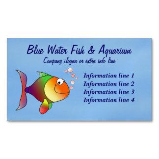 Negócio do aquário dos peixes