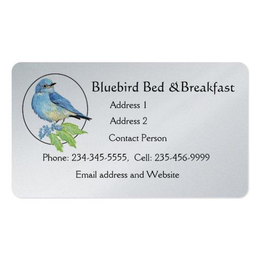 Negócio do costume do logotipo do pequeno almoço d modelo cartões de visitas