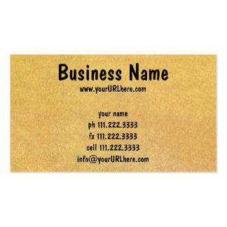 Negócio do vintage, modelos de revisão do arquitet modelo de cartões de visita