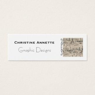Negócio francês de Paris - cartão telefónico
