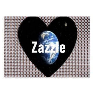 """Negócio mundial de Zazzle, 3,5"""" x 2,0"""", 100 blocos Cartão De Visita Grande"""