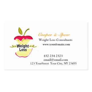 Negócio original original do nutricionista da cartão de visita