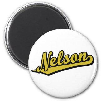 Nelson no ouro imãs de geladeira