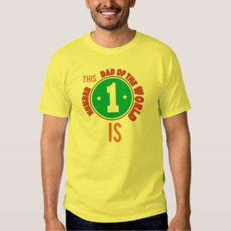 nenhum 1 pai do mundo tshirts