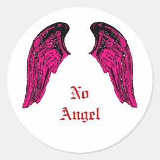 nenhum anjo adesivo
