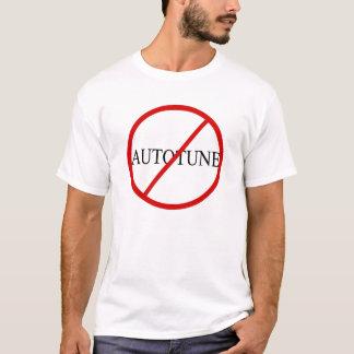 Nenhum Autotune Camiseta
