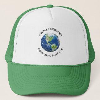 Nenhum chapéu da terra do plano B Boné