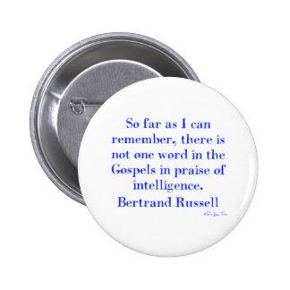 Nenhum elogio da inteligência nos evangelho botons