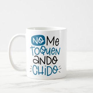 Nenhum eu toquen, chido do ando, espanhol caneca de café