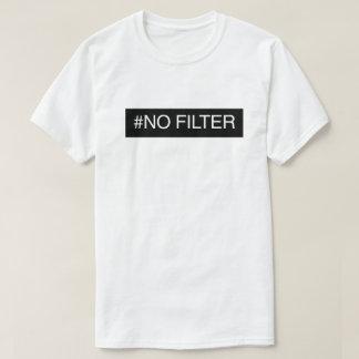 Nenhum filtro tshirts