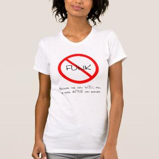 Nenhum funk (t-shirt liso)