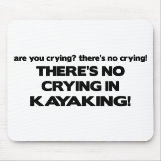 Nenhum grito - Kayaking Mousepad