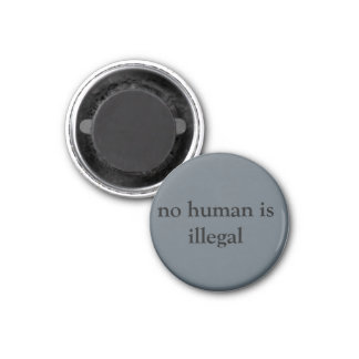 nenhum human.being é ilegal imã