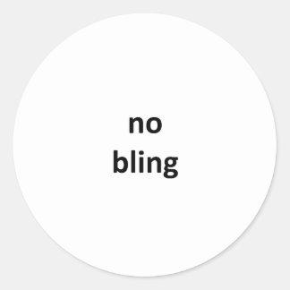 nenhum jGibney bling36 os presentes de Zazzle do Adesivo Em Formato Redondo
