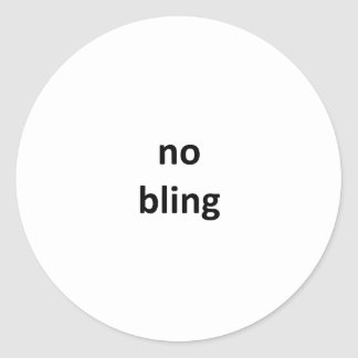nenhum jGibney bling3 os presentes de Zazzle do Adesivo