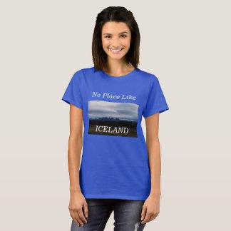 Nenhum lugar gosta da camisa de Islândia