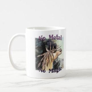 Nenhum metal nenhuma mágica - caneca de Silubhra