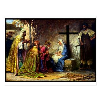 Nenhum Natal sem a cruz Cartão Postal