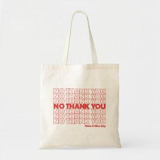 Nenhum obrigado você o bolsa