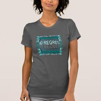 NENHUM PESAR forma a camisa -