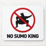 Nenhum rei do Sumo Mouse Pads