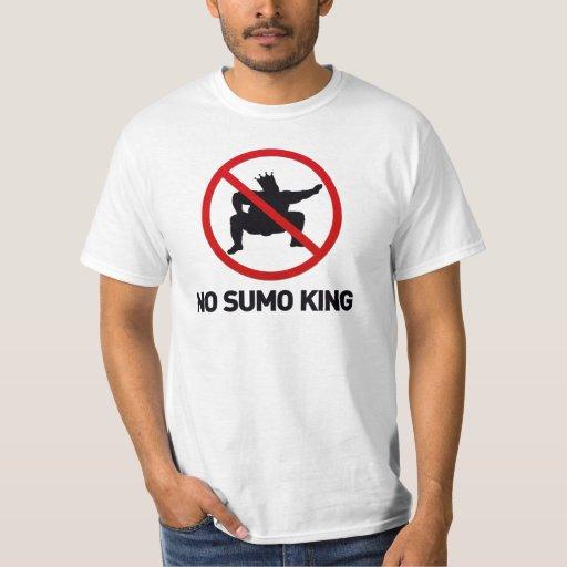 Nenhum rei do Sumo Tshirts