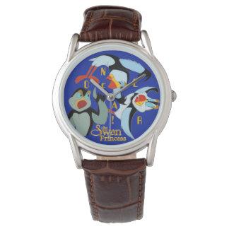 Nenhum relógio do papagaio-do-mar do medo